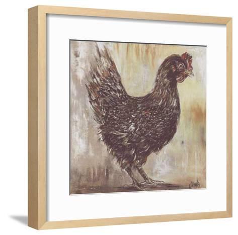 Poule Noire-Clauva-Framed Art Print