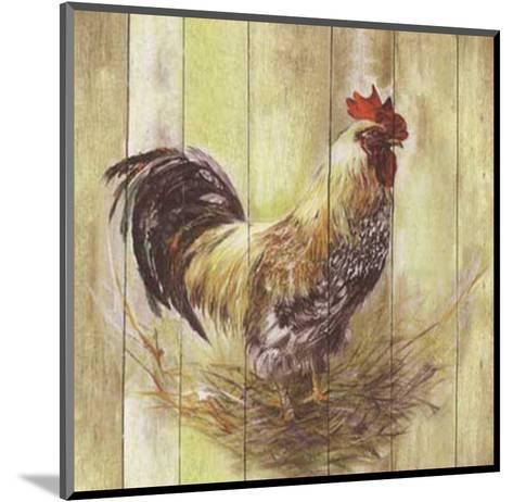Coq-Clauva-Mounted Art Print