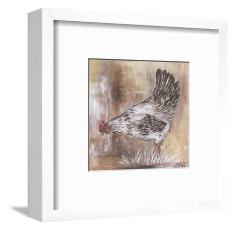 Poule Blanche-Clauva-Framed Art Print