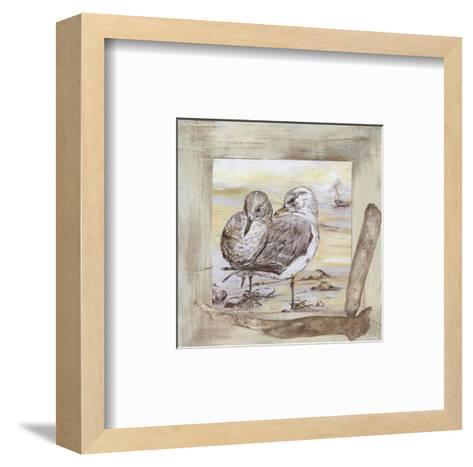 Mouettes-Clauva-Framed Art Print