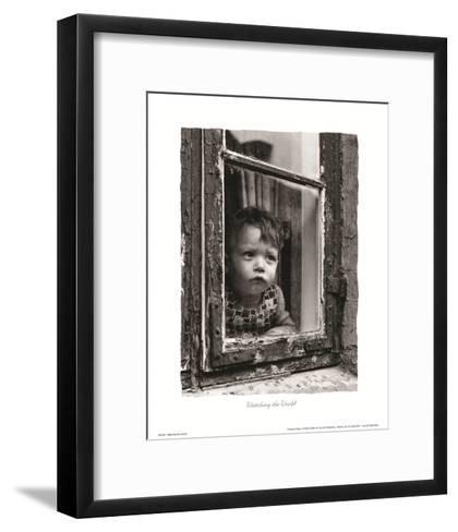 Watching the World--Framed Art Print