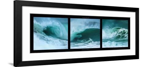 Waves in Motion-Laurent Pinsard-Framed Art Print
