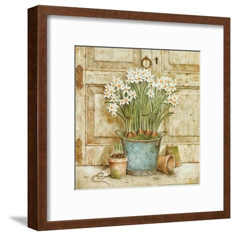 Potted Flowers II-Eric Barjot-Framed Art Print