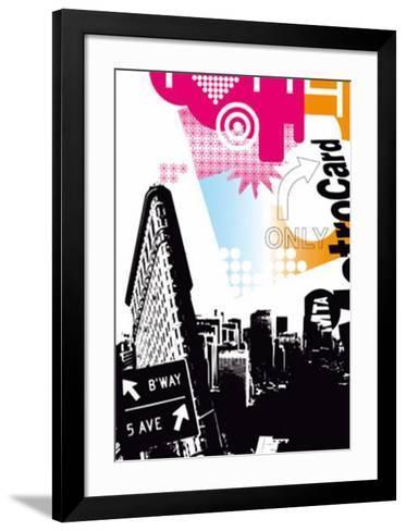 Flatiron Building-Kisiah-Framed Art Print