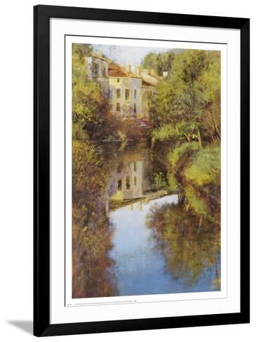 Stream Reflections-Michael Longo-Framed Art Print