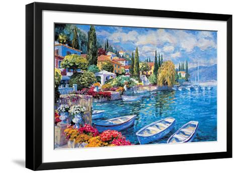 Italian Lakes II-Julian Askins-Framed Art Print