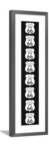 Route 66-Rod Kennedy-Framed Art Print