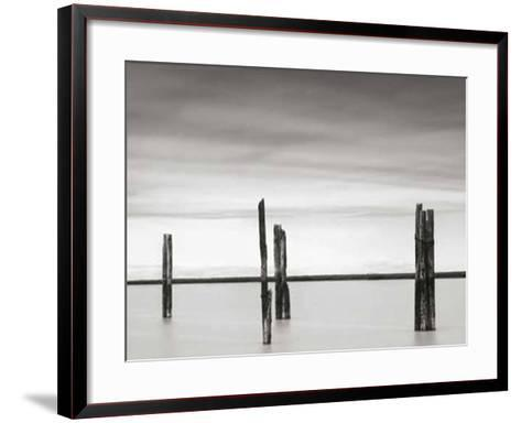 Cluster of Posts II-Lawrence Hislop-Framed Art Print