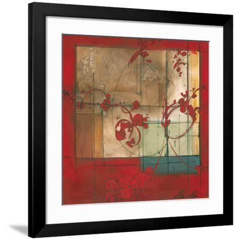 Amber Window-Patrick Pryor-Framed Art Print