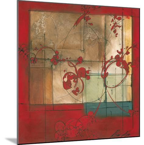 Amber Window-Patrick Pryor-Mounted Art Print