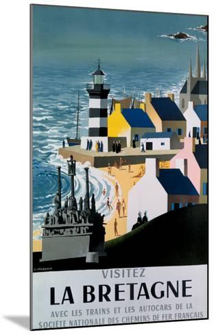 La Bretagne-Jacquelin-Mounted Giclee Print