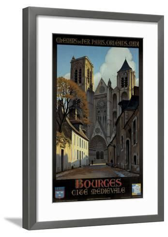 Bourges-Constant Leon Duval-Framed Art Print