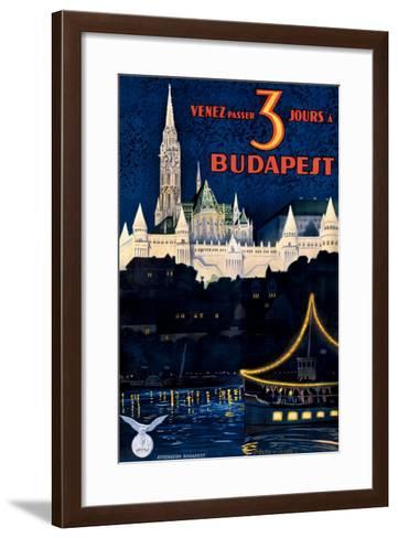 Budapest-Polya Tibor-Framed Art Print