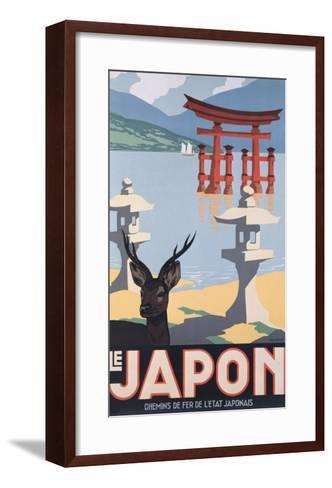Le Japon-P^ Erwin Brown-Framed Art Print