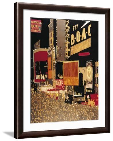 Broadway-Bruno Wekemans-Framed Art Print