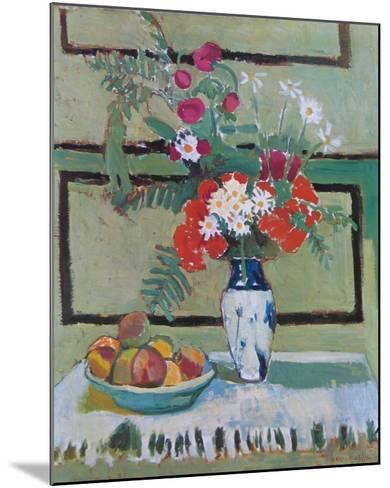 Still Life, Flowers and Fruit-Henri Matisse-Mounted Art Print