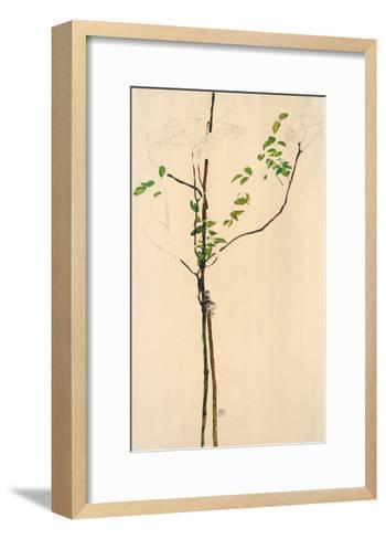 Young Tree-Egon Schiele-Framed Art Print