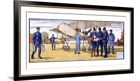 Mobilisation, 1914-Courvoisier-Framed Art Print