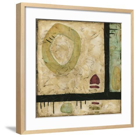 Stone Tile II-Nancy Slocum-Framed Art Print