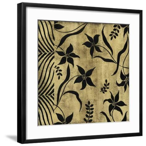 Petals and Herringbone II-Nancy Slocum-Framed Art Print