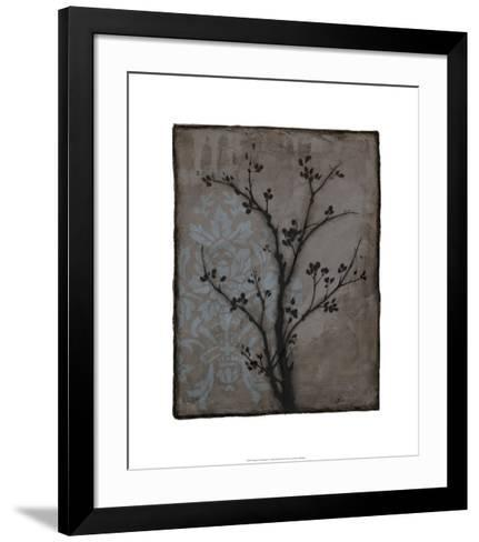 Branch in Silhouette IV-Jennifer Goldberger-Framed Art Print