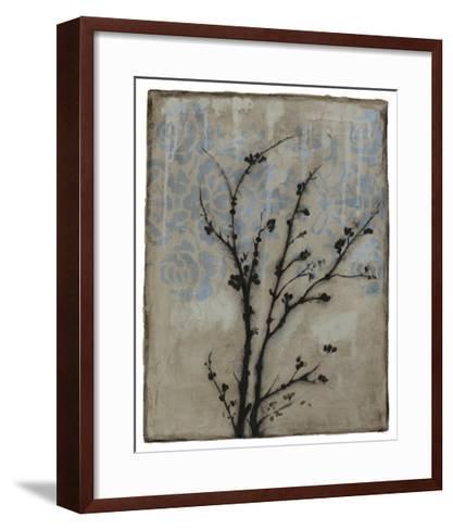 Branch in Silhouette V-Jennifer Goldberger-Framed Art Print