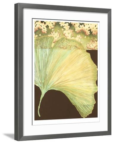 Filigree Ginkgo II-Erica J^ Vess-Framed Art Print