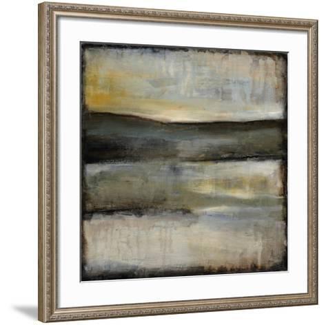 Misty Horizon III-Jennifer Goldberger-Framed Art Print