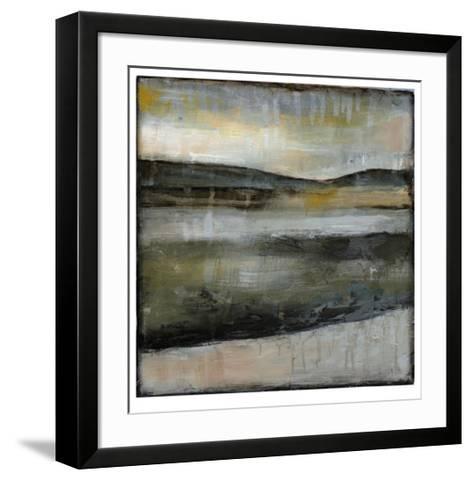 Misty Horizon IV-Jennifer Goldberger-Framed Art Print