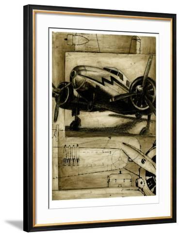 Trans America I-Ethan Harper-Framed Art Print