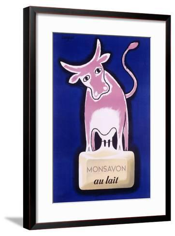 Monsavon au Lait-Raymond Savignac-Framed Art Print