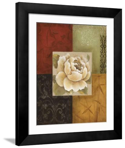 Beautiful as Peonies I-Eugene Tava-Framed Art Print