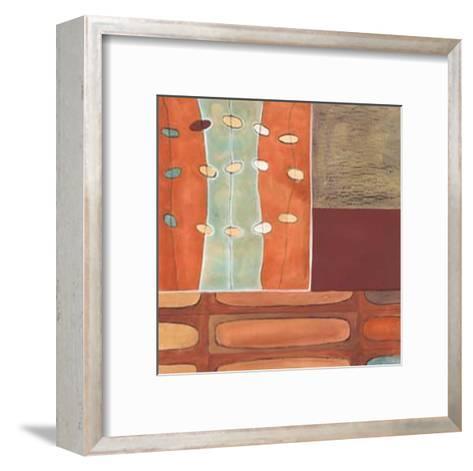 Egg Hunt in Orange II-Erica J^ Vess-Framed Art Print
