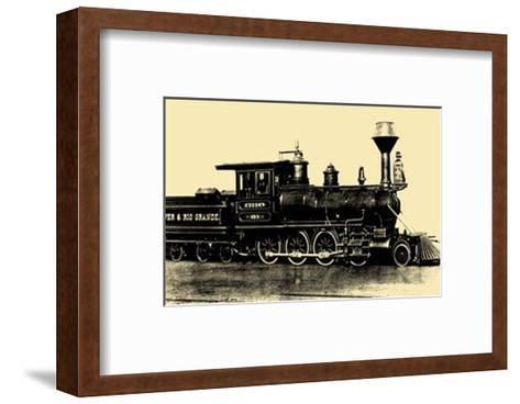 Locomotive III--Framed Art Print