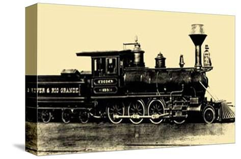Locomotive III--Stretched Canvas Print