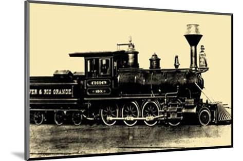 Locomotive III--Mounted Art Print