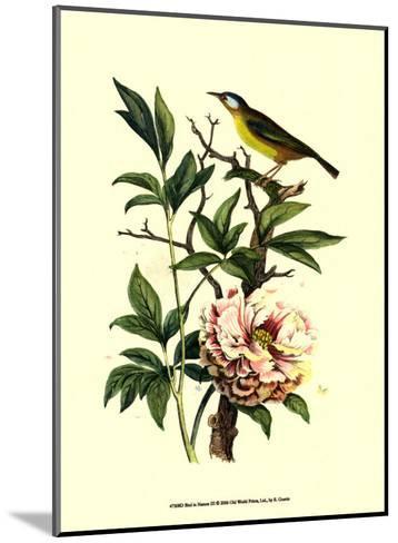 Bird in Nature III-E^ Guerin-Mounted Art Print