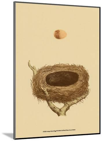 Antique Nest and Egg III-Reverend Francis O^ Morris-Mounted Art Print