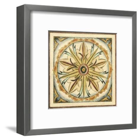 Crackled Cloisonne Tile I-Chariklia Zarris-Framed Art Print