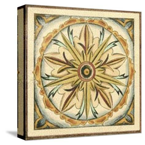Crackled Cloisonne Tile I-Chariklia Zarris-Stretched Canvas Print