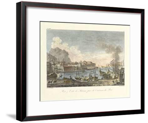 Port and Villa II--Framed Art Print