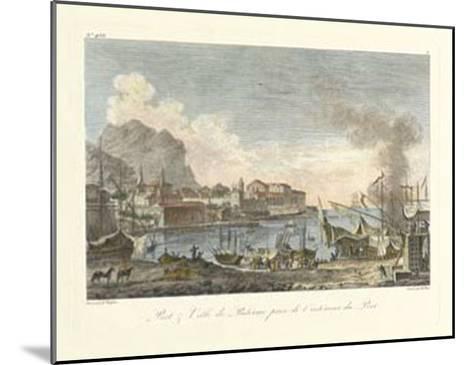 Port and Villa II--Mounted Giclee Print