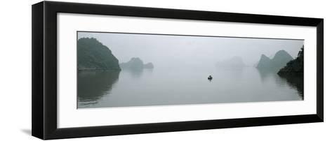 Petit Matin en Baie d'Halong-Philip Plisson-Framed Art Print