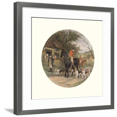 Here Come the Hounds-William Joseph Shayer-Framed Art Print