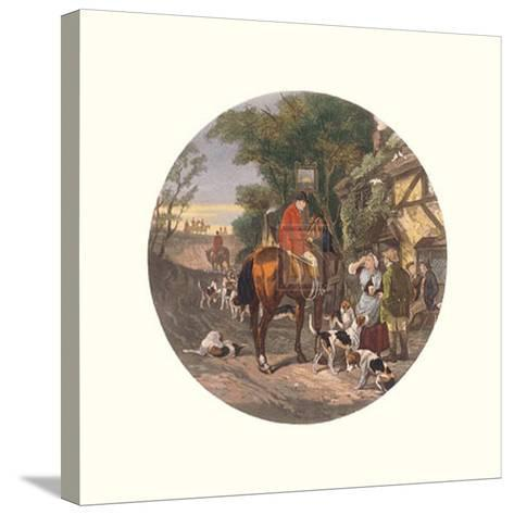 The Return Home-William Joseph Shayer-Stretched Canvas Print
