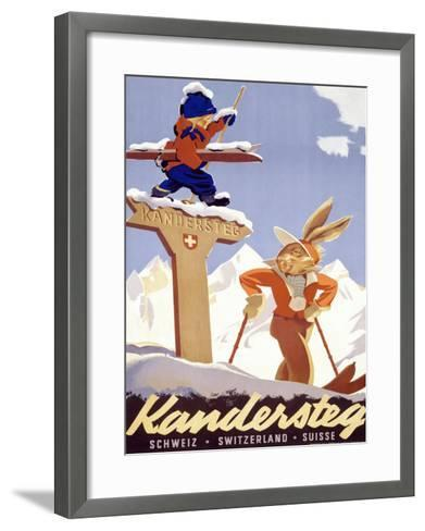 Kandersteg--Framed Art Print