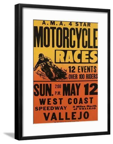 Vallejo, California--Framed Art Print
