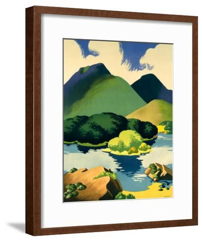 Ireland for Holidays, Killarney-Clodagh Sparrow-Framed Art Print