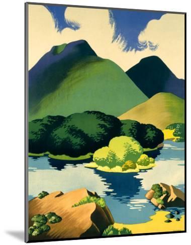 Ireland for Holidays, Killarney-Clodagh Sparrow-Mounted Giclee Print
