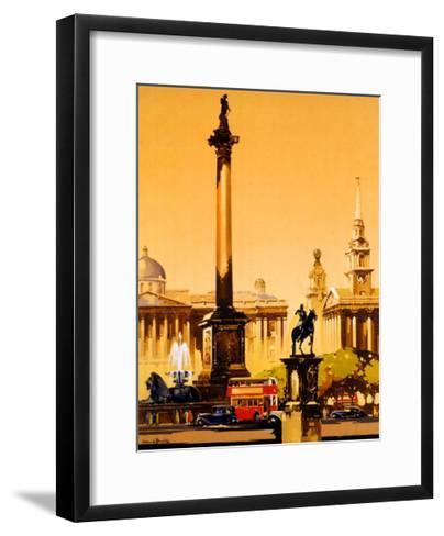 London, Trafalgar Square, 1948-1965-Claude Buckle-Framed Art Print